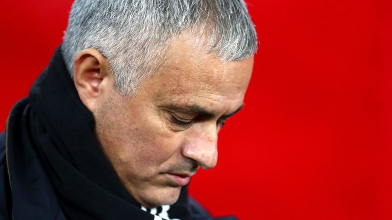 Mourinho has been sacked after two-and-a-half years in charge at United