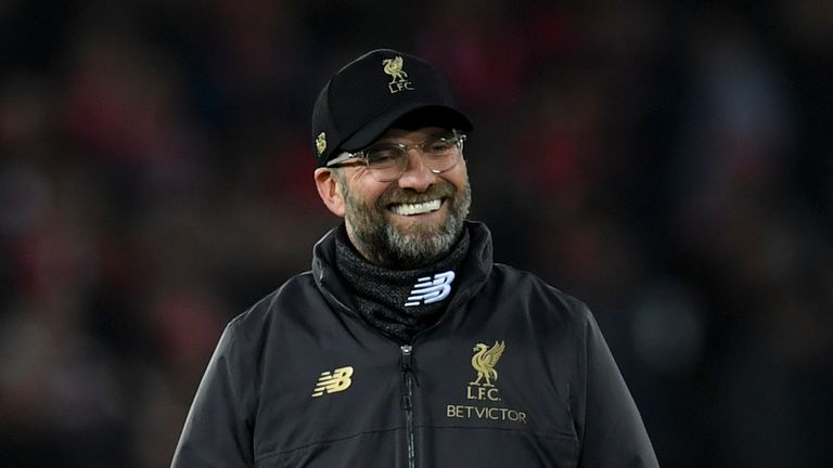 Jurgen Klopp saw Liverpool thrash Arsenal at Anfield