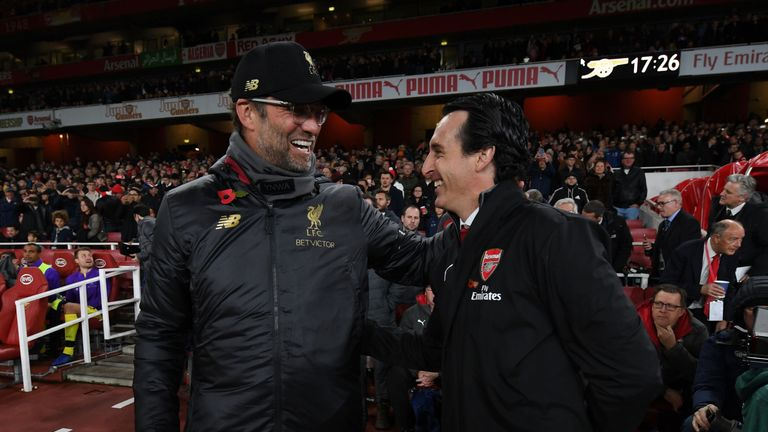 Unai Emery says Arsenal are close behind Liverpool in Premier League | Football News |