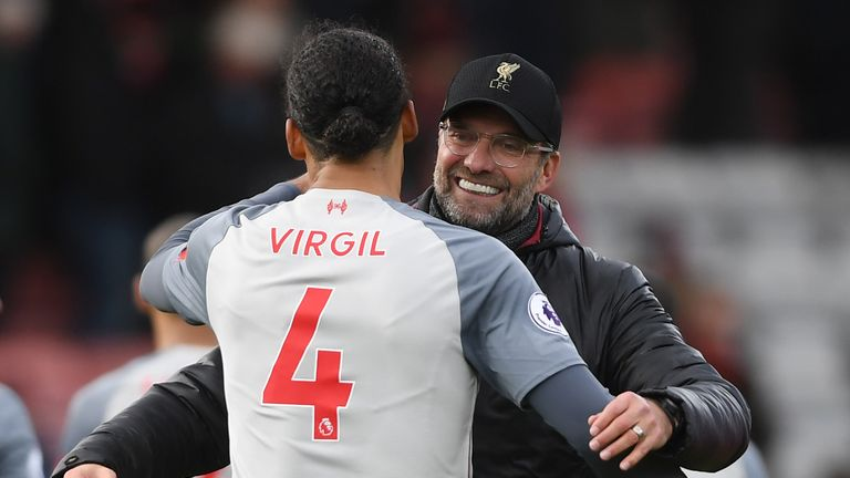 Jurgen Klopp's team surged to the top of the Premier League