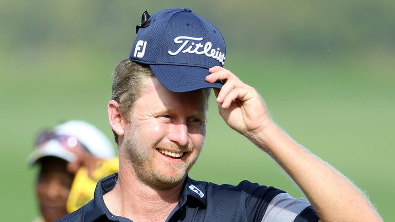 Justin Harding matched the best round of the week with his 64