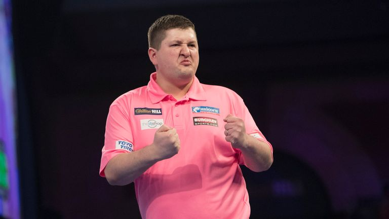 Keegan Brown enjoyed his win on Saturday night