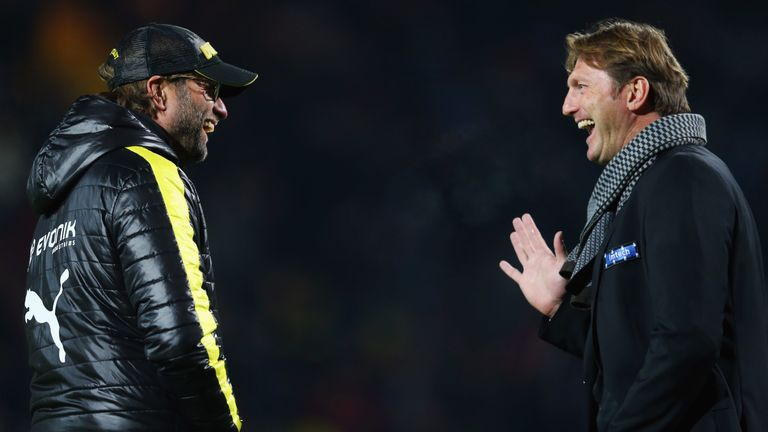 Klopp and Hasenhuttl in Germany
