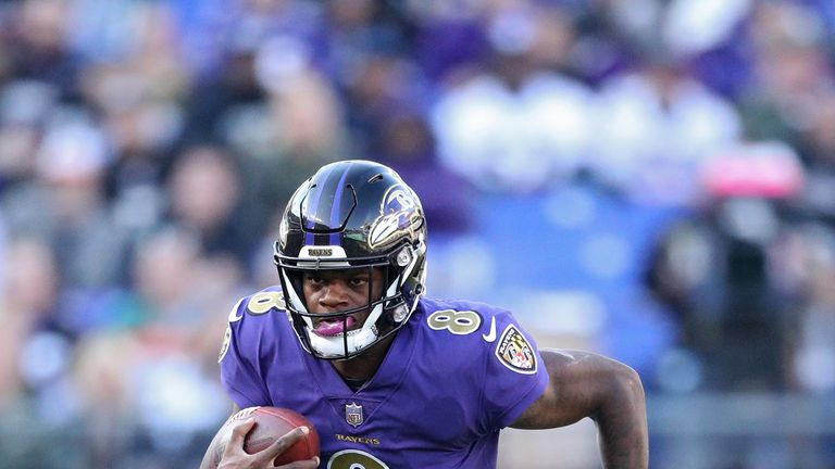 b67aa2e2a Rookie quarterback Lamar Jackson has been a revelation since taking over  the Ravens offense