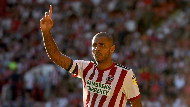 Sheffield United striker Leon Clarke may have to settle for a place on the bench