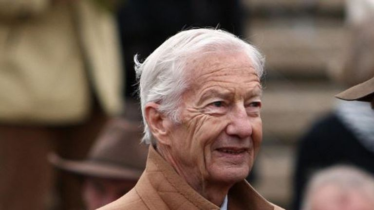Racing great Lester Piggott was taken to hospital over the weekend