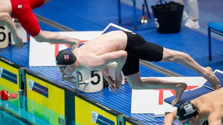 Max Litchfield is in fine form as the build-up to Tokyo 2020 gathers momentum