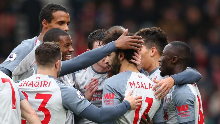 Liverpool are purring at the moment, says former Reds midfielder Jamie Redknapp