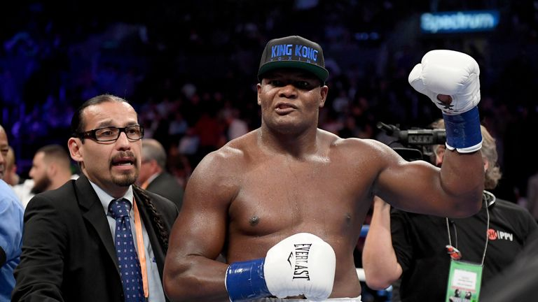 Luis Ortiz's only career loss came at the hands of Deontay Wilder in March 2018