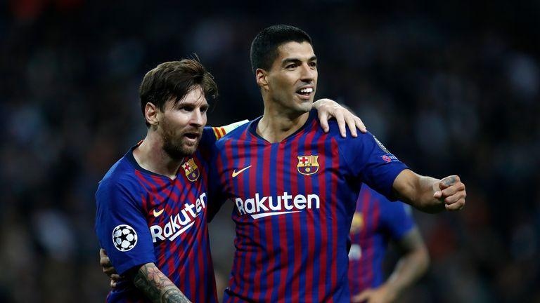 Lionel Messi scored two free-kicks as Barcelona beat Espanyol 4-0 on Saturday