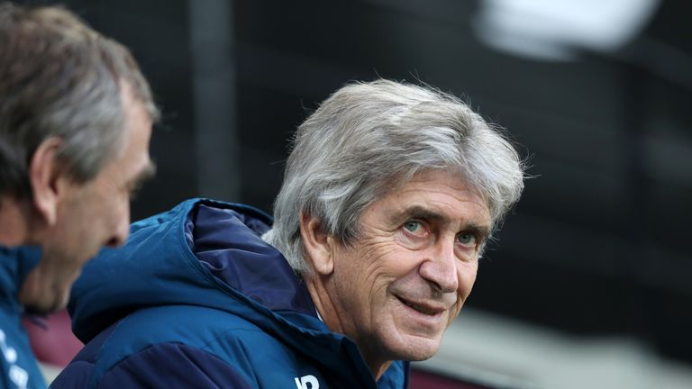 Manuel Pellegrini has seen his team win four consecutive matches