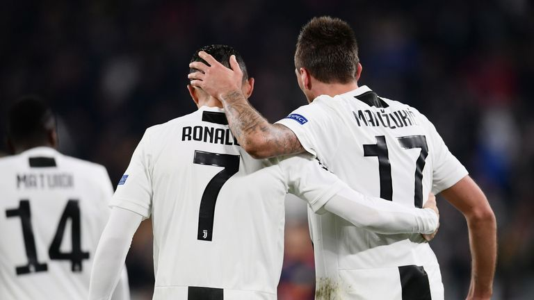 Mario Mandzukic has enjoyed his partnership with Ronaldo