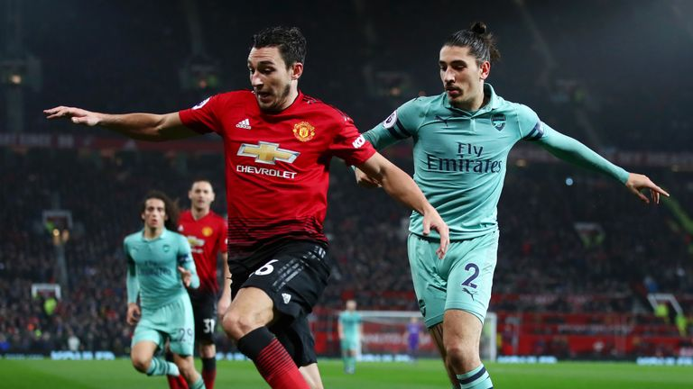 Matteo Darmian could be set to exit Old Trafford