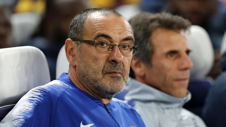 Maurizio Sarri only signed two players in the summer that came with a transfer fee