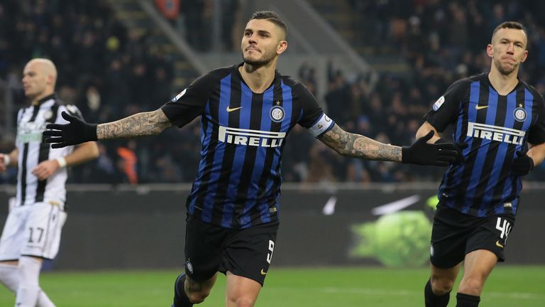 Mauro Icardi has been pursued by Real Madrid, Napoli and Juventus