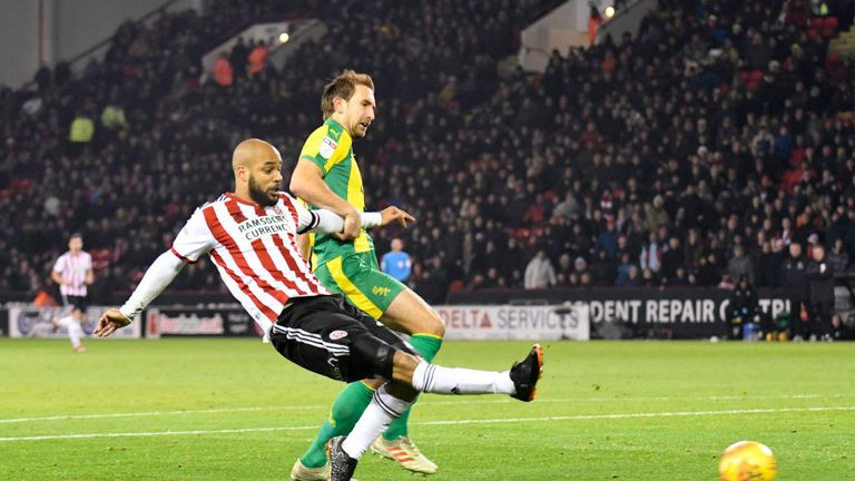 McGoldrick slots home the opener against West Brom