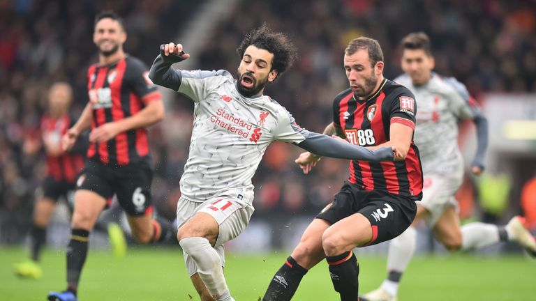 Salah was unstoppable against Bournemouth