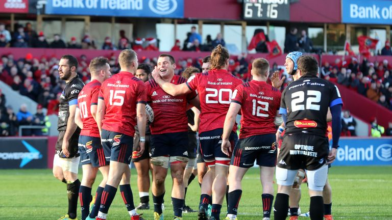 Munster secured a comfortable victory over Castres on Sunday, but missed out on a bonus-point win