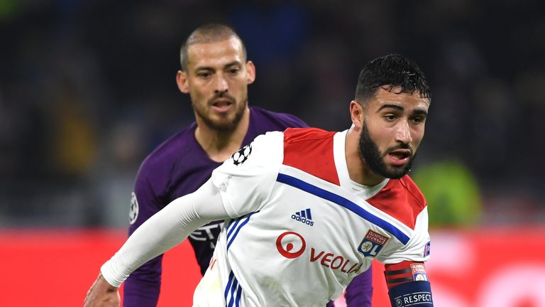 Lyon playmaker Nabil Fekir's future should be clarified by the new year