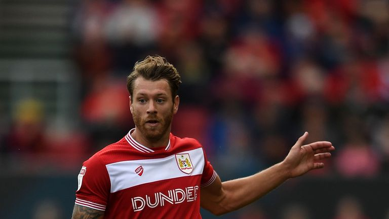 Bristol City defender Nathan Baker has been sidelined with a calf injury