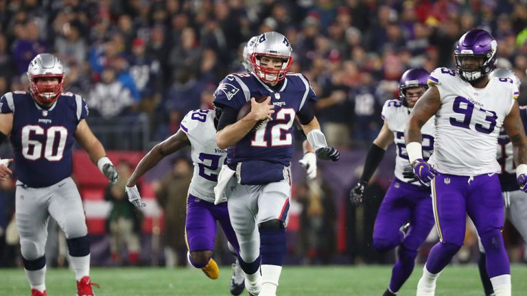 Highlights of Minnesota Vikings against New England Patriots in Week 13 of the NFL.