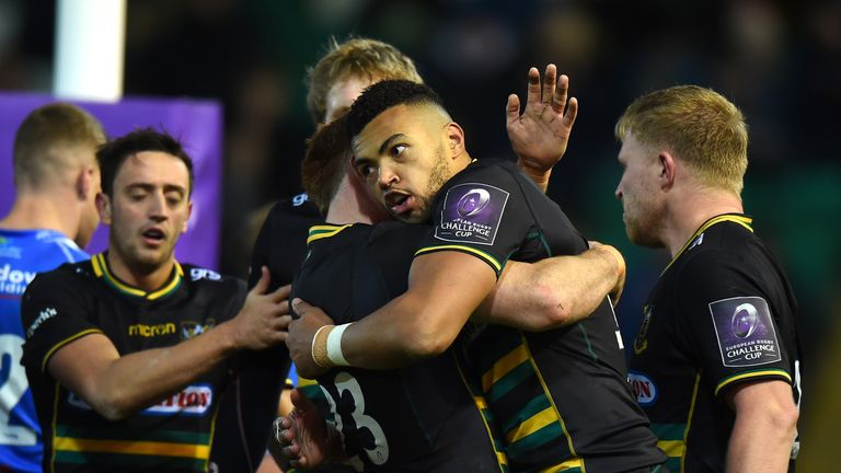 64afad725 Northampton Saints were among the winning teams in this weekend s European  Challenge Cup