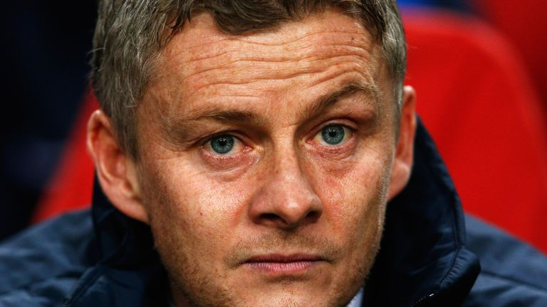 Ole Gunnar Solskjaer is expected to be named interim manager after a post on United's website accidentally confirmed his appointment