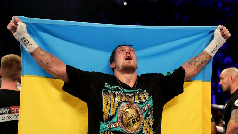 Usyk aims to be heavyweight champion