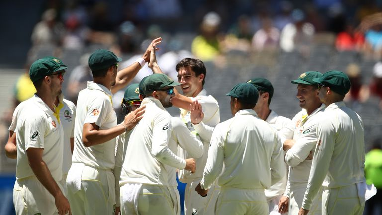 Australia beat India by 146 runs in the Perth Test