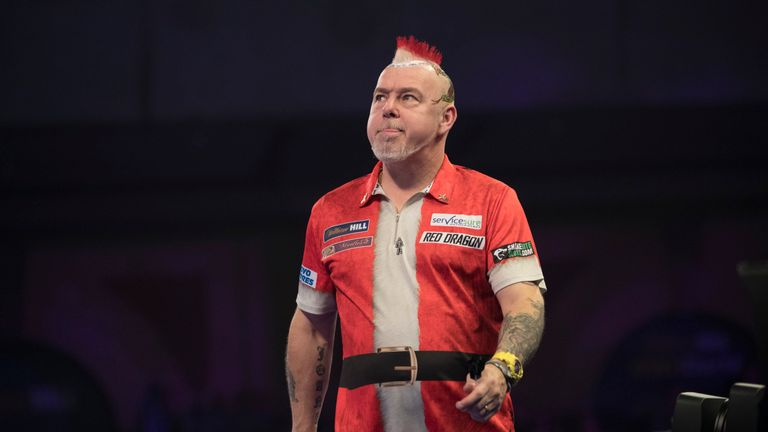 Peter Wright suffered a shock exit to Toni Alcinas