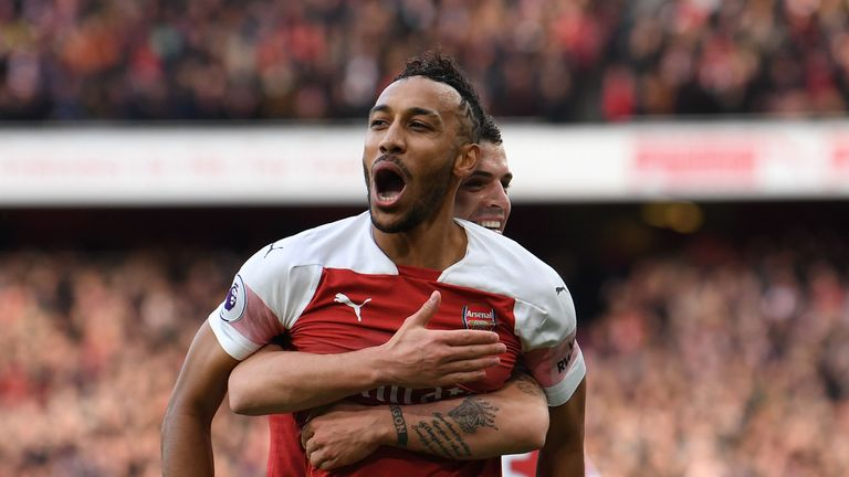 Pierre-Emerick Aubameyang has been in good form for Arsenal recently