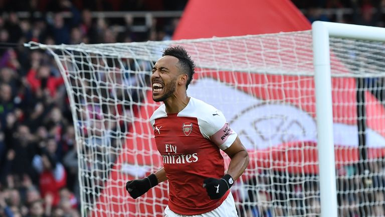Aubameyang should lead the line against Bournemouth and Southampton