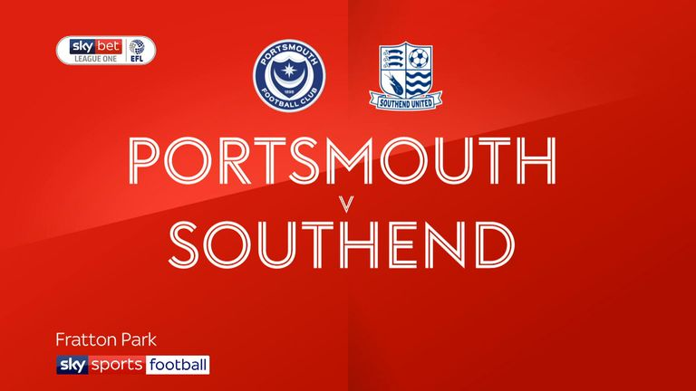Portsmouth 2-0 Southend: Pompey cruise to victory