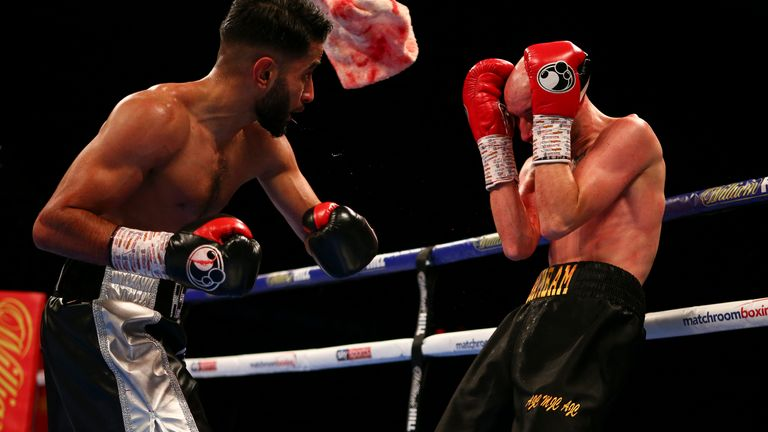 Qais Ashfaq improves to 4-0