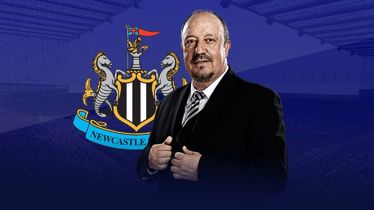 Rafa Benitez spoke exclusively to Sky Sports about Newcastle United