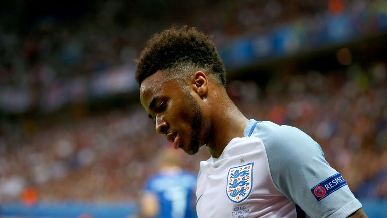 Raheem Sterling struggled with abuse during Euro 2016, says former England boss Roy Hodgson