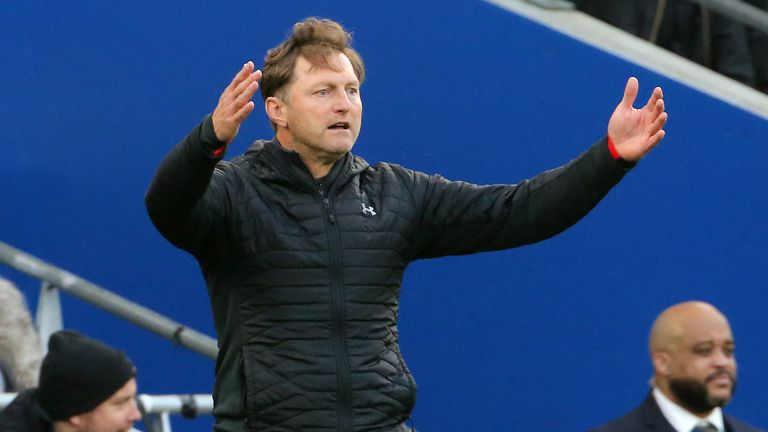 New Southampton manager Ralph Hasenhuttl made six changes on Saturday