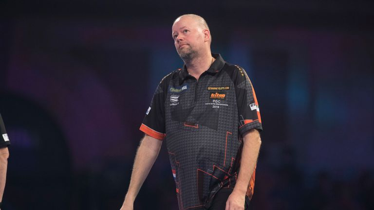 Raymond van Barneveld is hurting after a run of poor results