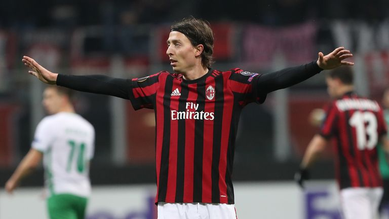 Riccardo Montolivo will be allowed to leave AC Milan on a free transfer