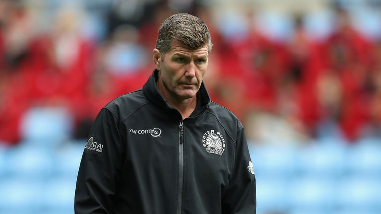 Rob Baxter says his family's happiness is more important than his coaching career