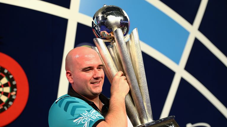 Rob Cross was 20th seed when he lifted the Sid Waddell Trophy last time round at Alexandra Palace
