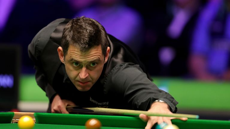 O'Sullivan won six frames in a row to take control and closed the match out with a break of 78