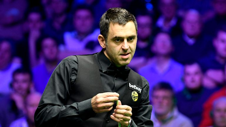 Ronnie O'Sullivan won the UK Championship at The York Barbican