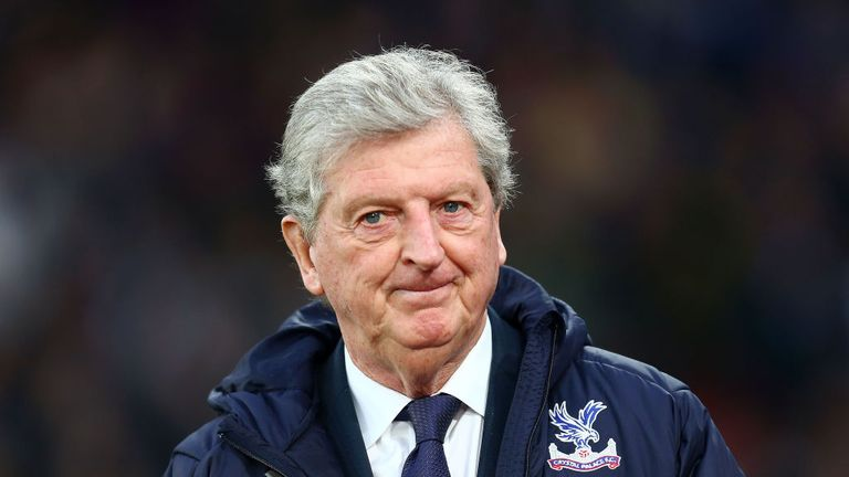 Roy Hodgson signed a contract extension at Palace in August