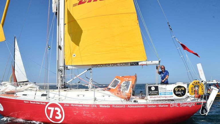 Susie Goodall was competing in a 30,000-mile round-the-world race