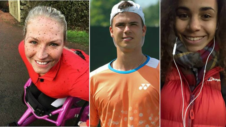 Samantha Kinghorn, Dan Altmaier and Molly Thompson-Smith fired up for 2019
