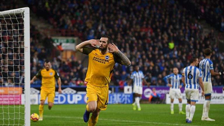 Shane Duffy has been pivotal for Brighton's survival fight thus far