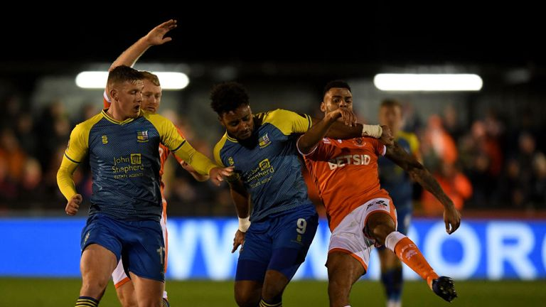 Solihull Moors drew 0-0 at home to Blackpool on Friday and they face a second-round replay