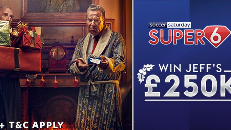 Play Super 6 for the chance to win £250k!