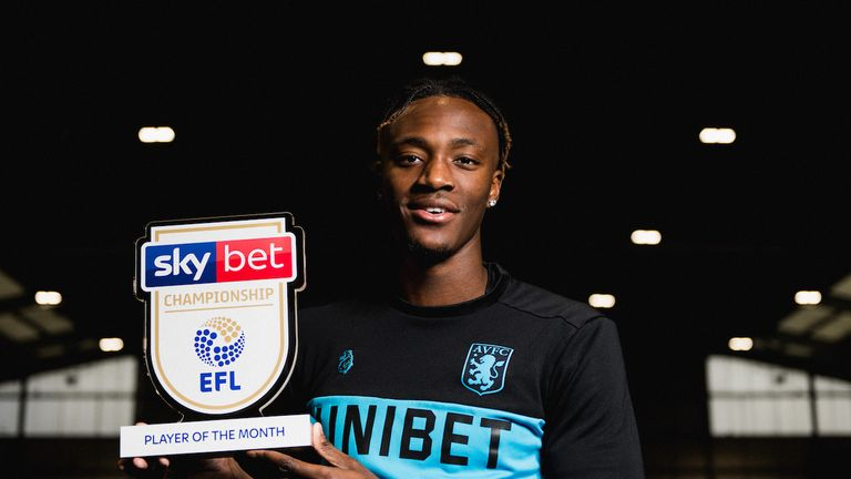 Tammy Abraham is the Sky Bet Championship Player of the Month for November